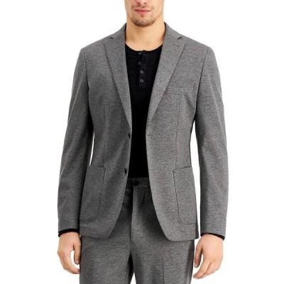 カルバンクライン ジャケット&ブルゾン アウター メンズ Men's Slim-Fit Stretch Gray Suit Jacket Grey