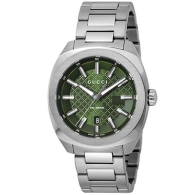 グッチ 腕時計 GUCCI メンズ GG2570 グリーン YA142313