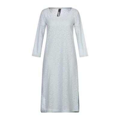 ディメンシオーネ ダンツァ DIMENSIONE DANZA 7分丈ワンピース・ドレス ライトグレー S ナイロン 100% 7分丈ワンピース・ドレス