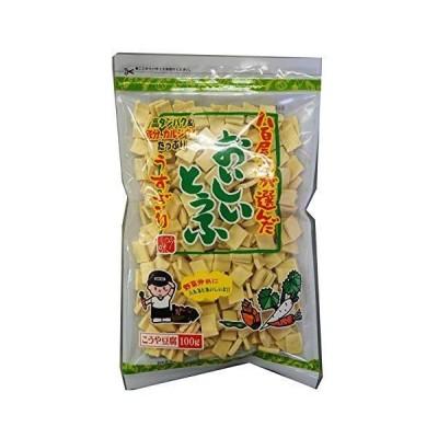 登喜和冷凍食品 八百屋さんが選んだおいしい豆腐うすぎり 100g ×5袋
