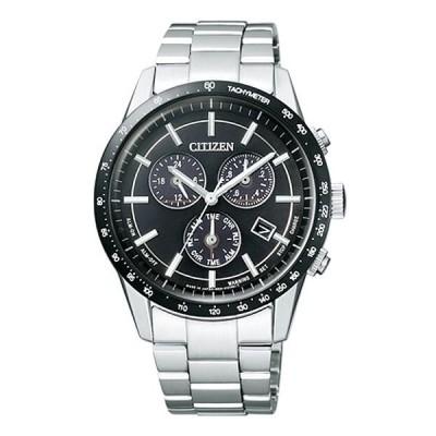 シチズン コレクション BL5594-59E エコ・ドライブ クロノグラフ メタルフェイス ブラック メンズ腕時計 長期保証5年付