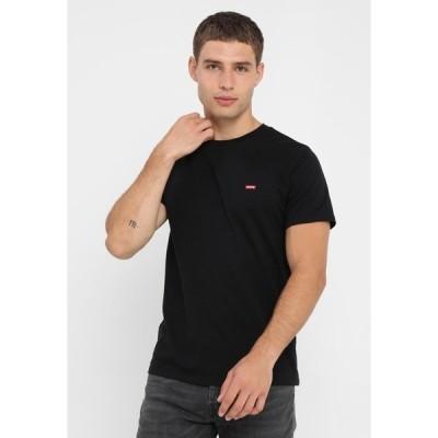 リーバイス Tシャツ メンズ トップス 501 ORIGINAL TEE - Print T-shirt - patch black