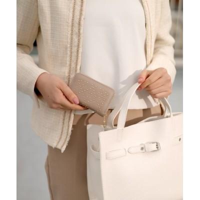florist / 本革2way3種展開スタッズスクエア小さい財布 WOMEN 財布/小物 > カードケース