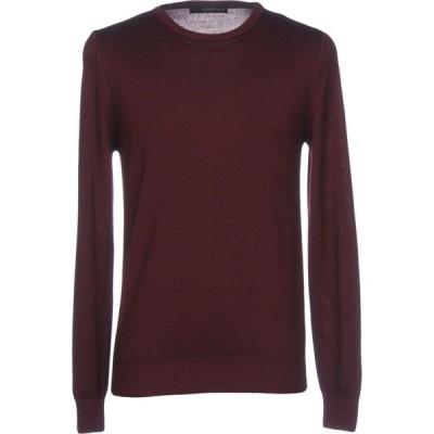 ジョルディーズ JEORDIE'S メンズ ニット・セーター トップス Sweater Maroon