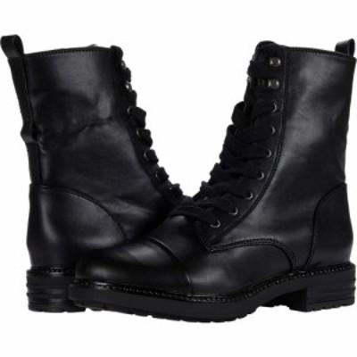 レポート Report レディース ブーツ シューズ・靴 Newel Black Smooth