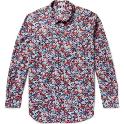 エンジニアードガーメンツ ENGINEERED GARMENTS メンズ シャツ トップス Patterned Shirt Dark blue
