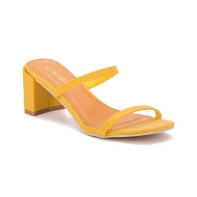 オリビアミラー レディース サンダル シューズ Women's Out On The Town Block Sandals