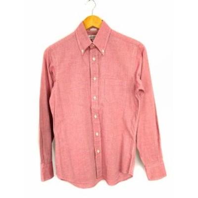 【中古】インディビジュアライズドシャツ INDIVIDUALIZED SHIRTS ボタンダウンシャツ 長袖 スタンダードフィット