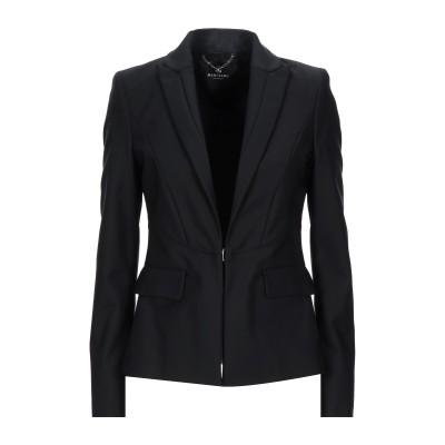 MARCIANO テーラードジャケット ブラック 40 コットン 52% / ナイロン 45% / ポリウレタン 3% テーラードジャケット