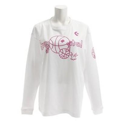 Tシャツ レディース 長袖 プリント CB382304L-1161 【 バスケットボール ウェア 】