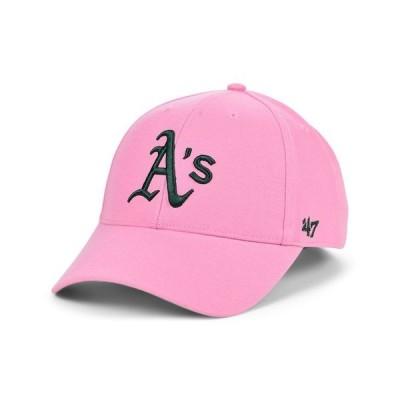 47ブランド メンズ 帽子 アクセサリー Oakland Athletics Pink Series Cap