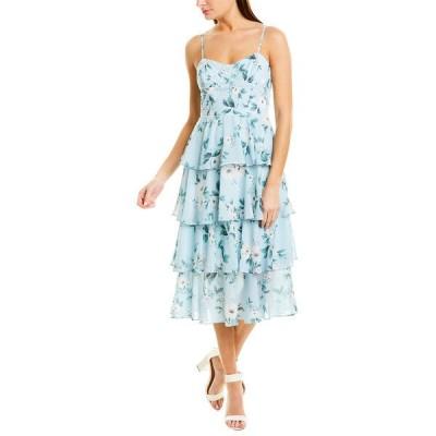 ユミキム ワンピース トップス レディース YUMI KIM Midi Dress primrose blue