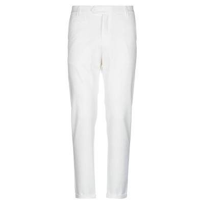 LES DEUX パンツ ホワイト 28 ポリエステル 63% / レーヨン 32% / ポリウレタン 5% パンツ