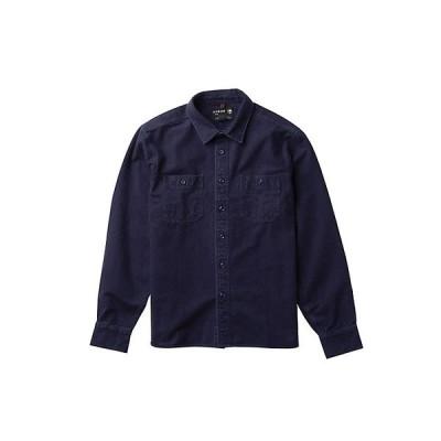 アーボー シャツ メンズ トップス Arbor Men's Foundation Chamois Shirt Indigo