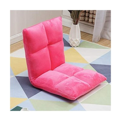 LT&NT Floor Folding Sofa Chair, Adjustable Padded Lounger Cushion Sleeper Bed Couch Lazy Soft Recliner with Back Support for Reading Gaming