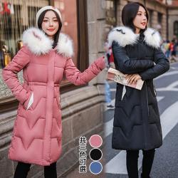K.W.韓國 (現貨)北歐風範連帽羽絨外套