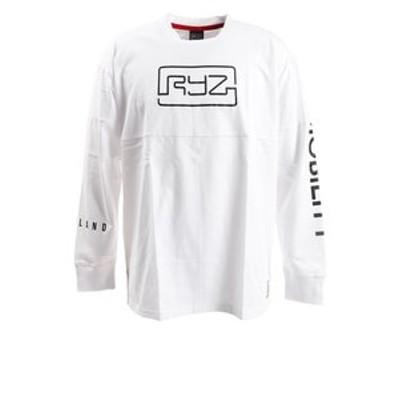 Tシャツ メンズ 長袖 CUT OFF 869R0CD3194 WHT