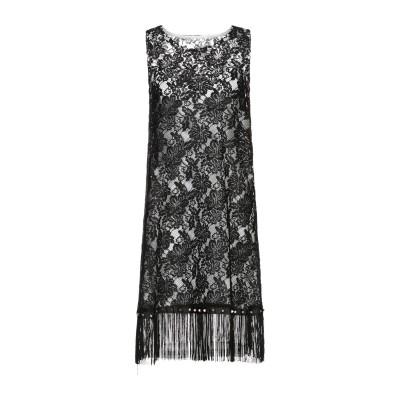 06 MILANO ミニワンピース&ドレス ブラック 42 ポリエステル 100% ミニワンピース&ドレス
