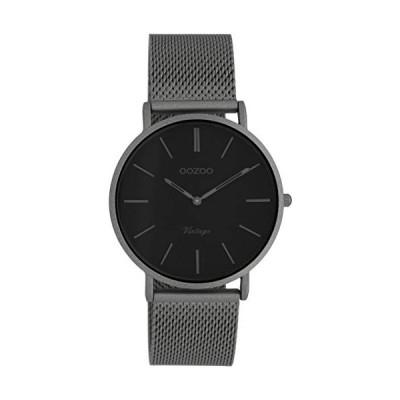 OOZOO Vintage Titanium/Black watch C9930 (36 mm) 並行輸入品