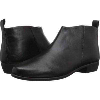 エアロソールズ Aerosoles レディース ブーツ シューズ・靴 Step It Up Black Leather