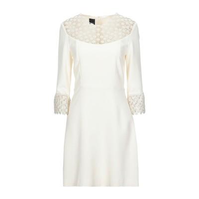 ピンコ PINKO ミニワンピース&ドレス アイボリー 40 ポリエステル 100% ミニワンピース&ドレス
