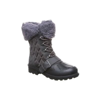 ベアパウ ブーツ&レインブーツ シューズ レディース Women's Delta Insulated Boots Charcoal