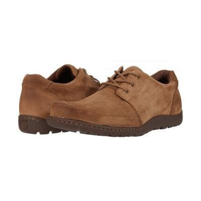 Born ボーン メンズ 男性用 シューズ 靴 オックスフォード 紳士靴 通勤靴 Nigel 3-Eye - Tan Suede