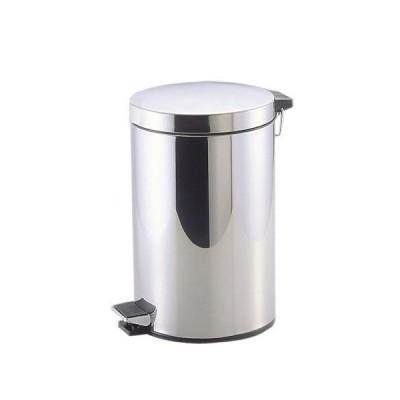 ごみ箱 ペダルペール ステンレス製 12L/ゴミ箱 ごみ箱 ダストボックス おしゃれ ふた付 ステンレス 清潔 足で踏むタイプ