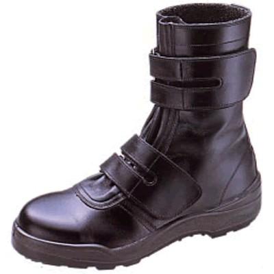 【シモン】 長編上靴 8538黒 (普通作業用) 【JIS T8101革製S種(普通作業用) E合格品】