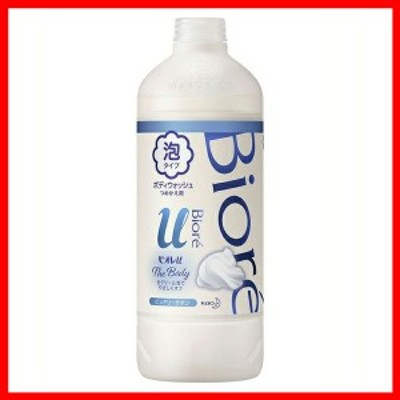ビオレu ザボディ 泡タイプ ピュアリーサボン つめかえ用 450ml 花王株式会社 ボディウォッシュ ボディソープ ボディシャンプー 弱酸性