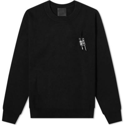 ジバンシー Givenchy メンズ ニット・セーター トップス Lock Crew Knit Black