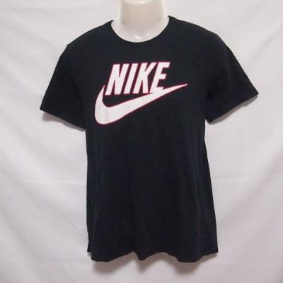 古着 メンズL NIKE/ナイキ Tシャツ 半袖 スポーツ カジュアル 普段着 スポーツミックス ブラック 744735-010
