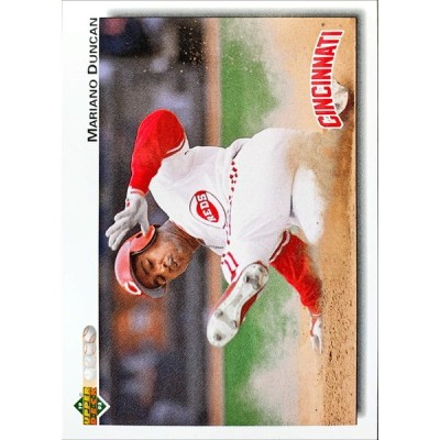 MLBカード 92UPPERDECK Mariano Duncan #659 REDS