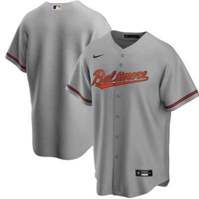 ナイキ メンズ Tシャツ トップス Baltimore Orioles Nike Road 2020 Replica Team Jersey