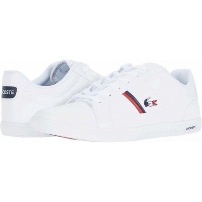 ラコステ Lacoste メンズ シューズ・靴 Europa TRI 1 White/Navy/Red