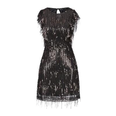 VANESSA SCOTT ミニワンピース&ドレス カッパー S ポリエステル 97% / ポリウレタン 3% ミニワンピース&ドレス
