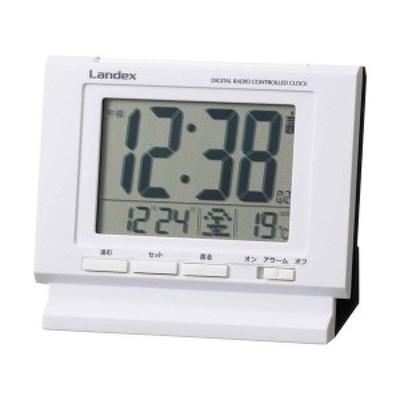 デジタルアラーム電波時計 L3182609(代引不可)