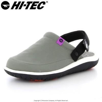ハイテック HI-TEC メンズ/レディース サンダル BBQ MOC カーキ スリッパ つっかけ