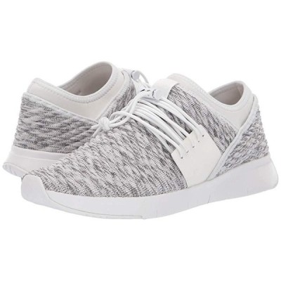FitFlop Artknit Lace-Up レディース スニーカー Urban White Mix