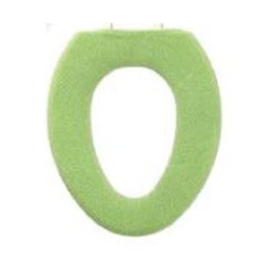 オカ やわらか便座カバー サンク O型 グリーン