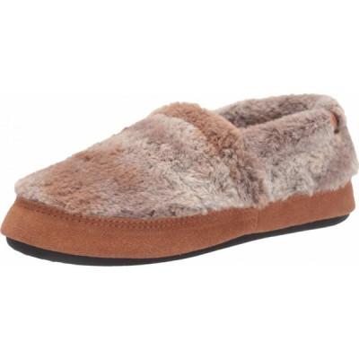 エーコーン Acorn レディース スリッパ シューズ・靴 Moc Brown Berber