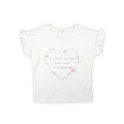 【Love Latte】半袖Tシャツ  ハート柄