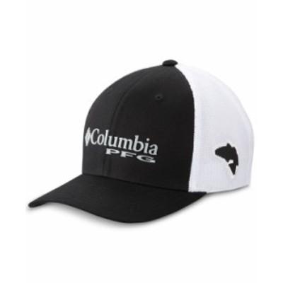 コロンビア メンズ 帽子 アクセサリー Men's PFG Mesh Ball Cap Black
