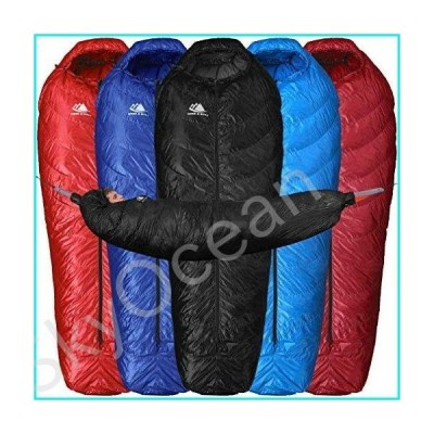 Down Sleeping Bag for Hammock Backpacking - 650 Fill Power 15 Degree F Bag for Hammock or Ground Camping and Backpacking - Light, Innovative