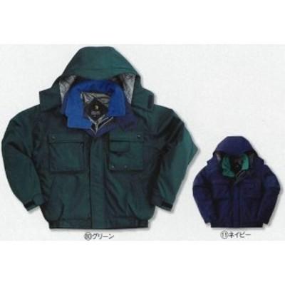 54133 秋冬用ジャンパー クロダルマ (kurodaruma)防寒ウェア社名刺繍無料M~5L ポリエステル100%