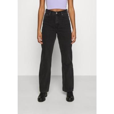 ドクターデニム レディース ファッション ECHO - Straight leg jeans - concrete black