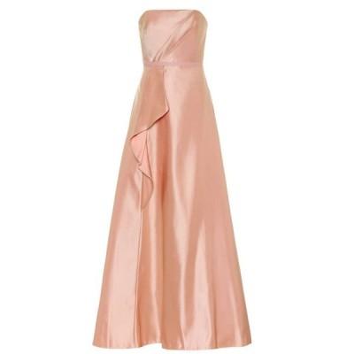 ノッテ バイ マルケッサ Marchesa Notte レディース パーティードレス ビスチェ ワンピース・ドレス Satin bustier gown Pale Pink