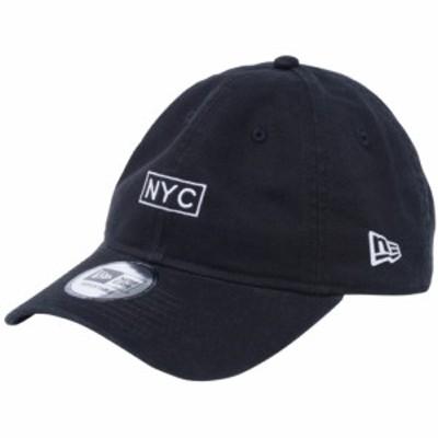 【新品】ニューエラ 930キャップ クローズストラップ NYC ボックス ブラック スノーホワイト New Era NewEra