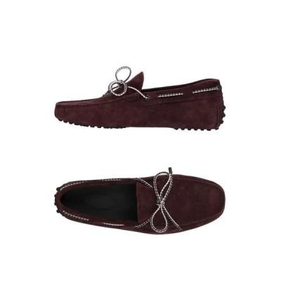 TOD'S トッズ モカシン ファッション  メンズファッション  メンズシューズ、紳士靴  モカシン ディープパープル