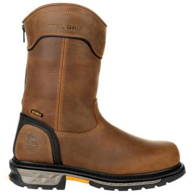 ジョージアブーツ メンズ ブーツ・レインブーツ シューズ Carbo-Tec LTX 11 Inch Waterproof Work Boots